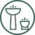 Pilette e sifoni per lavabo e bidet